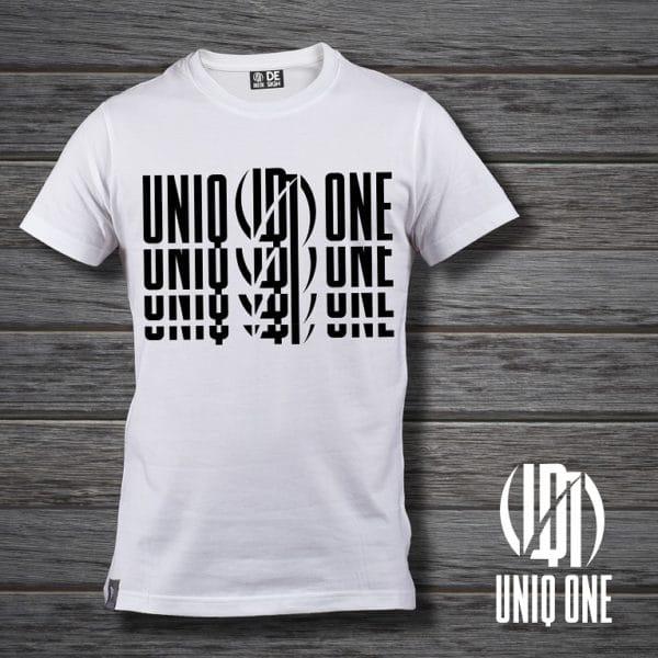 camiseta basic line 3 blanca
