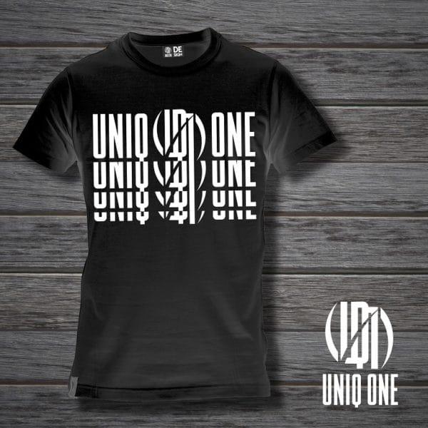 camiseta basic line 3 negra